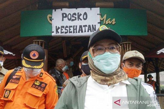 Bupati Bogor catat tiga jembatan hancur akibat banjir bandang Puncak
