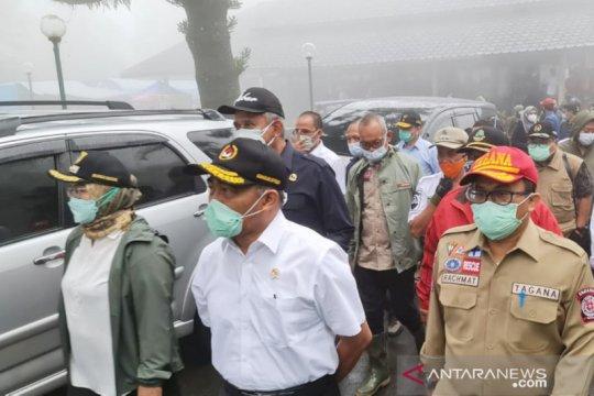 Kemensos beri Rp229 juta untuk korban bencana di Puncak Bogor