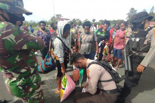 Seratusan pengungsi Banti dipulangkan ke Tembagapura