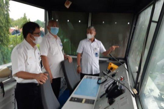 """Optimalkan navigasi, Airnav gunakan """"mobile tower"""" di Bandara Mamuju"""