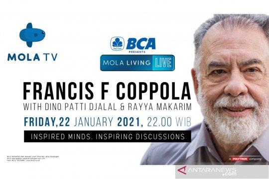 Bincang sinema bareng Francis Ford Coppola di Mola TV