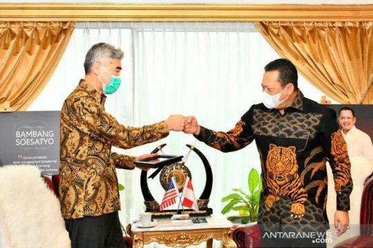 MPR dorong kerja sama Indonesia-AS pengadaan vaksin COVID-19