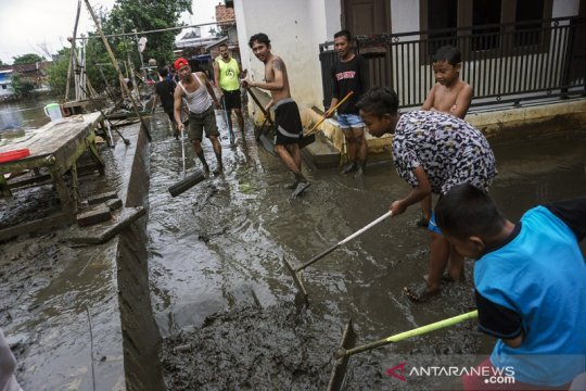 Banjir di Pekalongan mulai surut
