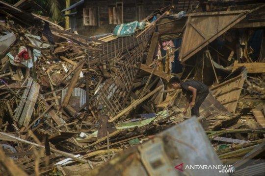 Dampak banjir bandang di kabupaten Hulu Sungai Tengah Kalsel