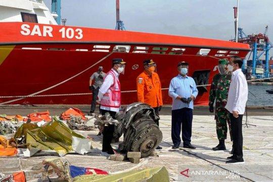 Presiden apresiasi kerja Tim Sar Gabungan evakuasi Sriwijaya Air