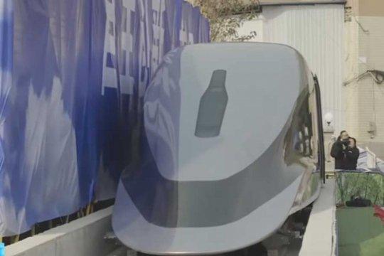 China luncurkan prototipe kereta secepat pesawat