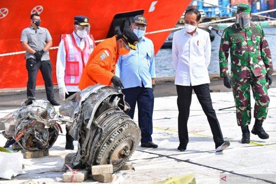 KNKT lanjutkan pencarian CVR, meski operasi SAR SJ 182 dihentikan