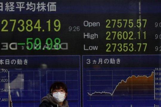 Pasar Asia bersiap untuk keuntungan moderat setelah Wall Street naik