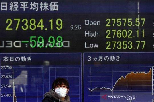 Saham Asia tegang di tengah kekhawatiran inflasi tinggi