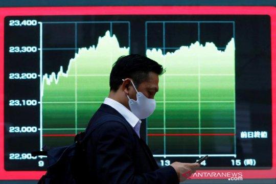 Saham Tokyo dibuka menguat setelah Wall Street capai rekor tertinggi