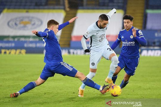 Kalahkan Chelsea 2-0, Leicester City rebut puncak klasemen sementara Liga Inggris