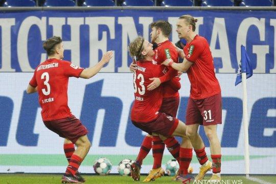 Cologne kembali ke jalur kemenangan usai pukul Schalke 2-1