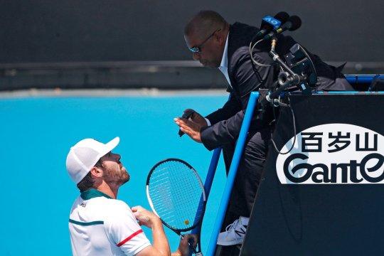 Wasit asal Brazil kena serangan jantung jelang Australian Open