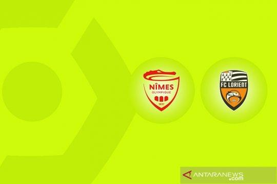 Pertandingan Liga Prancis Nimes vs Lorient ditunda karena COVID-19