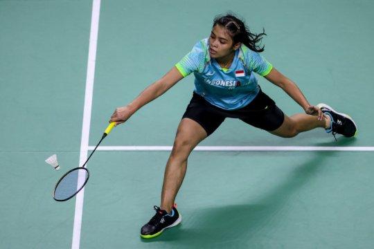 Gregoria belum mampu atasi unggulan pertama Thailand Open II