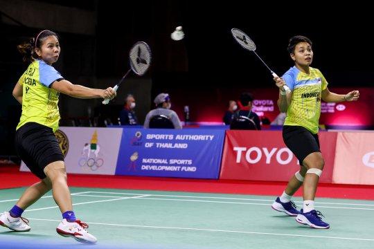 Greysia/Apriyani mantap melangkah ke perempat final Thailand Open II