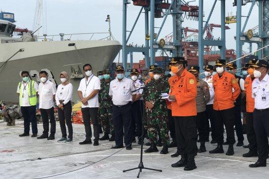 Basarnas hentikan pencarian korban Sriwijaya Air SJ 182