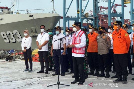 Menhub: Operasi pencarian pesawat SJ 182 dihentikan