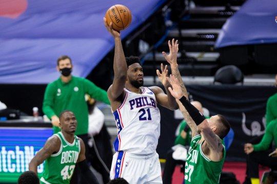 Joel Embiid bawa Philadelphia 76ers tundukkan Celtics
