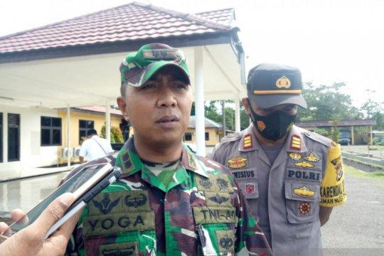 Prajurit TNI/Polri disiagakan di Banti jaga keamanan warga
