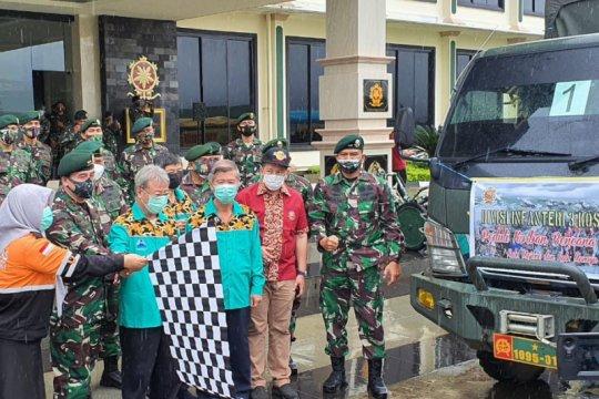 Divif 3 Kostrad salurkan bantuan untuk korban gempa Sulbar