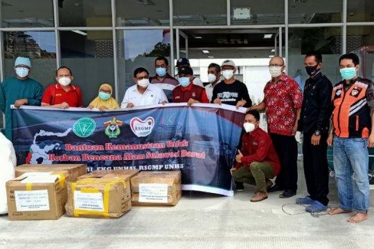 RSGMP Unhas kirimkan alat kesehatan untuk Sulbar