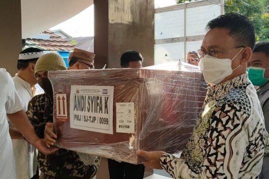 Wali Kota Pontianak ikut shalatkan jenazah penumpang Sriwijaya Air