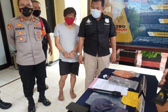 Pelaku eksibisionis terhadap istri Isa Bajaj ditangkap