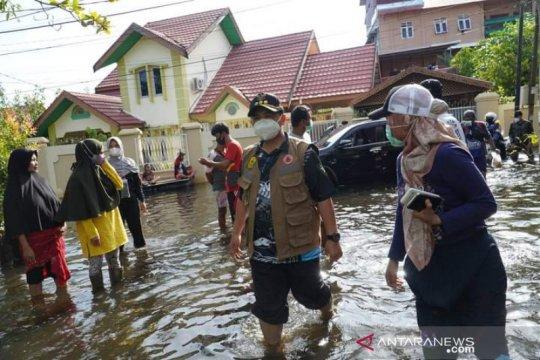 BPBD Banjarmasin: Hari kedelapan banjir, genangan air mulai surut
