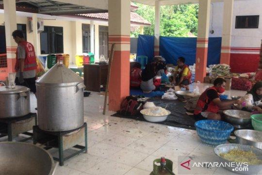 PMI Jember diirikan posko dapur umum di lokasi terdampak banjir