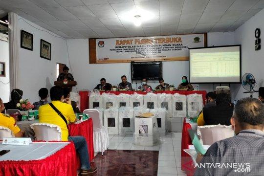 KPU Rejang Lebong segera tetapkan calon bupati-wakil bupati terpilih