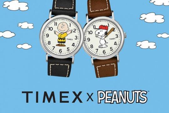 Snoopy dan Charlie Brown hiasi jam tangan edisi istimewa