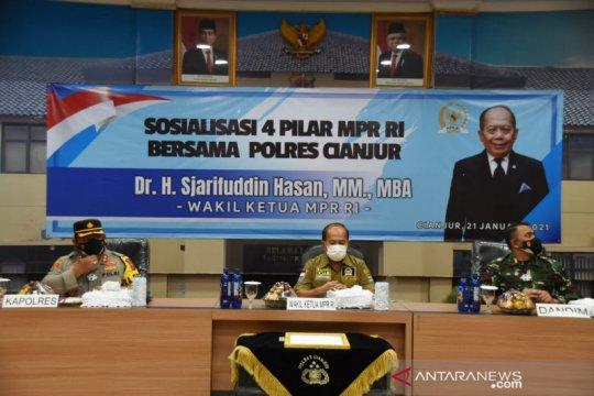 MPR: Pilkada berjalan lancar wujud suksesnya demokrasi