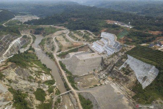 Proyek pembangunan Bendungan Leuwi Keris di Tasikmalaya