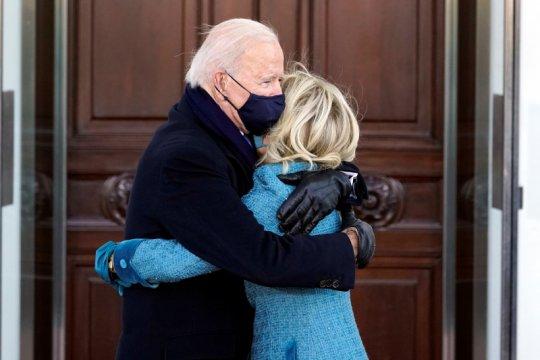 Presiden AS Joe Biden tiba dengan selamat di Gedung Putih
