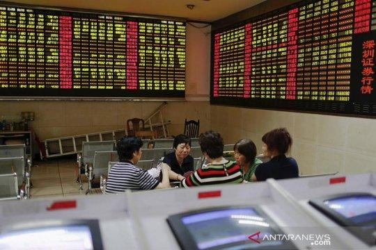 Saham China dibuka lebih rendah setelah menguat sehari sebelumnya