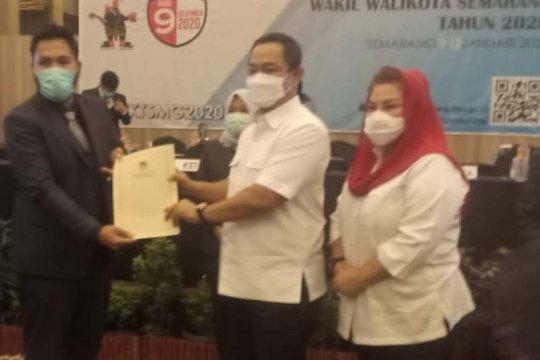 Hendi-Ita jadi Wali Kota dan Wakil Wali Kota Semarang terpilih