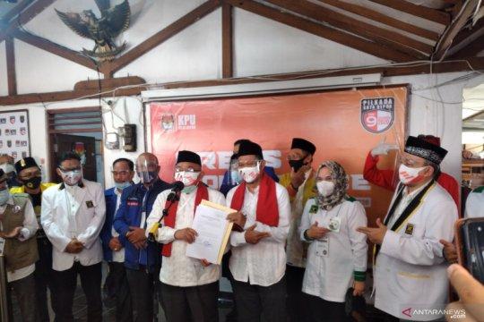 KPU Depok tetapkan Idris-Imam Wali Kota-Wawali Depok terpilih