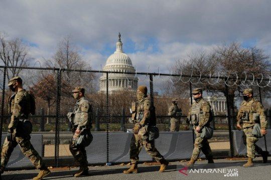 Lebih dari 150 Garda Nasional di Washington  positif corona