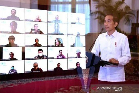 Presiden Jokowi minta para CEO rancang kolaborasi dengan petani