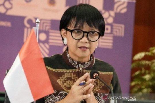 Menlu Retno ajak masyarakat Indonesia berikhtiar atasi pandemi