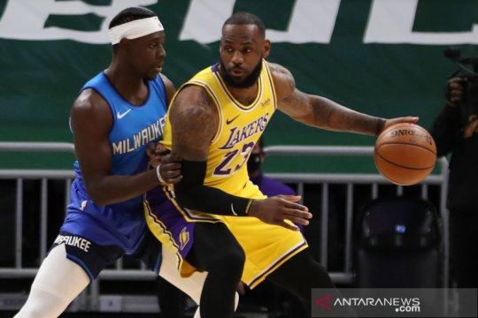 NBA : LA Lakers menang atas Milwaukee Bucks