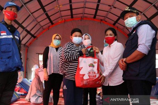 Menteri PPPA pastikan perempuan-anak aman dan nyaman di pengungsian