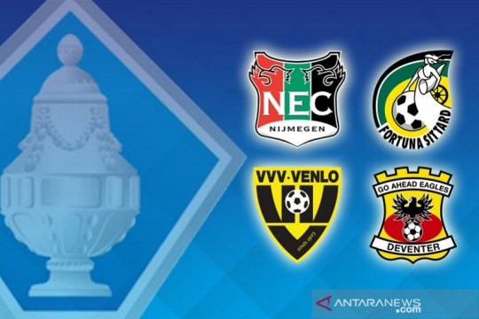 NEC Nijmegen dan VVV Venlo lanjut perempat final Piala KNVB