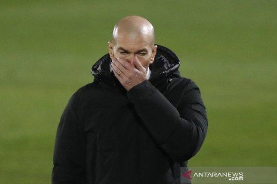 Zidane menolak berkomentar soal Liga Super Eropa