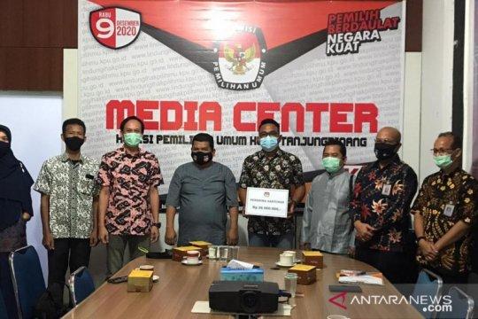 Keluarga mantan Ketua PPS di Tanjungpinang terima dana sagu hati
