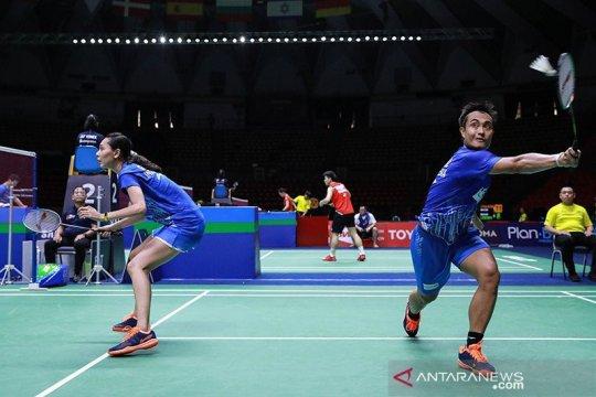 Hafiz/Gloria gagal ke semifinal Thailand Open II