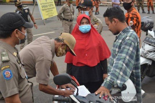 Sebanyak 1,9 juta orang di Jawa Timur terjaring operasi yustisi PPKM