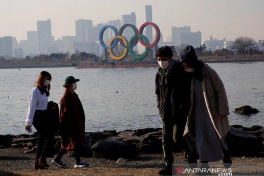 """Survei: Sebagian besar orang di Jepang """"tertarik pada Olimpiade"""""""
