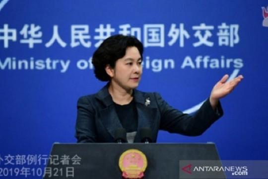 Jubir Kemlu China Hua Chunying jabat Asisten Menlu